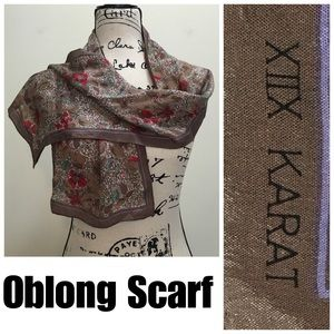 XIIX Karat Vintage Scarf